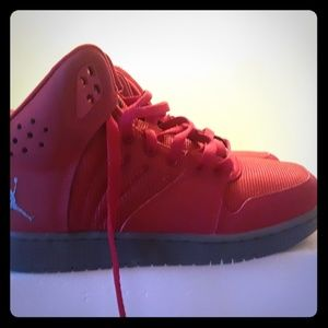 Size 5Y Jordan/Nike High Top Sneakers